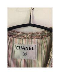 Chanel Multicolor Wolle Blazer