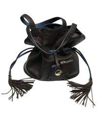 Lancel Brown 1er Flirt Leder Handtaschen