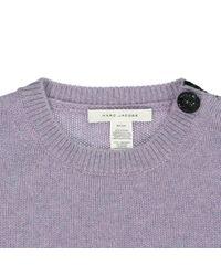 Pull en cachemire Marc Jacobs en coloris Purple
