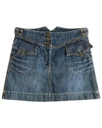 Étoile Isabel Marant Blue Denim - Jeans Skirt