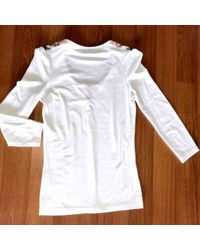 Burberry White T-shirt