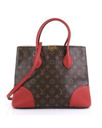 Cabas Flandrin de Lona Louis Vuitton de color Brown