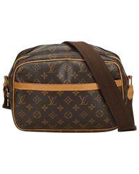 Louis Vuitton Multicolor Reporter Leinen Handtaschen