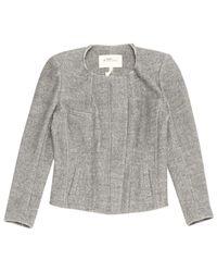 Étoile Isabel Marant Gray Grey Wool Jacket