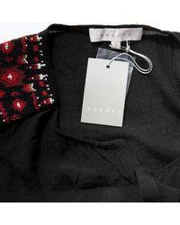 Robe en Synthétique Noir Sandro en coloris Black