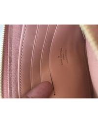 Bolsa de mano en lona marrón Double zip Louis Vuitton de color Brown