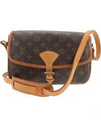Louis Vuitton - Brown Sologne Cloth Crossbody Bag - Lyst