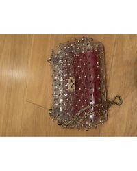 Bolsa de mano en plástico Rockstud spike Valentino de color Multicolor