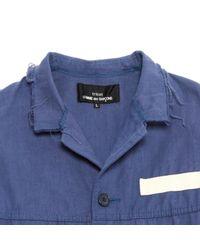Comme des Garçons Blue Short Vest