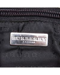 Burberry Brown Plastic