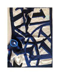 Foulard Multicolore di Louis Vuitton in Blue