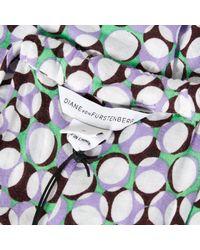 Diane von Furstenberg Multicolor Maxi Dress