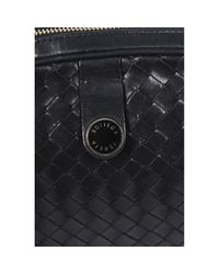 Borsa a mano in pelle nero di Bottega Veneta in Black