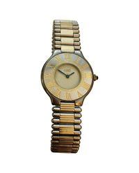 Cartier Metallic Must 21 Uhren