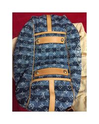 Louis Vuitton Blue Baggy Cross Body Tashe