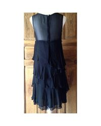 Comme des Garçons \n Black Silk Dress