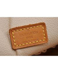 Louis Vuitton Brown Spontini Leinen Handtaschen