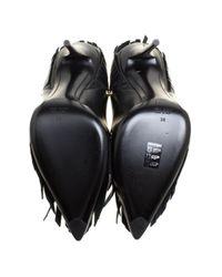 Giuseppe Zanotti Black Leder Pumps