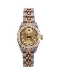 Rolex Metallic Lady Datejust 26mm Uhren