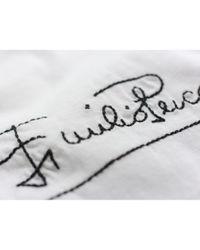Emilio Pucci \n White Cotton Top