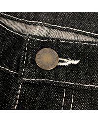 Louis Vuitton Gray Breite Jeans