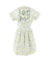 Mini robe Olympia Le-Tan en coloris White