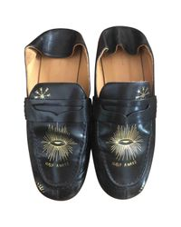 Isabel Marant Black Pre-owned Leather Flats