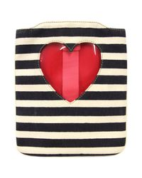 Moschino Red Vintage Multicolour Cotton Purses, Wallets & Cases
