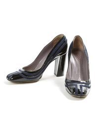 Anya Hindmarch Black Patent Leather Heels