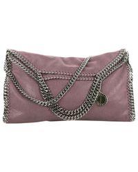 Bolsa de mano en sintético violeta Stella McCartney de color Multicolor