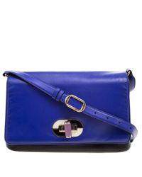 BVLGARI Blue Leder Handtaschen