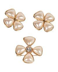 Chanel - Metallic Pre-owned Jewellery Set - Lyst