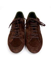Baskets basses Louis Vuitton pour homme en coloris Brown