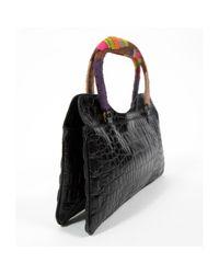 Miu Miu Matelassé Black Leather Handbag