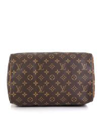 Sac à main Speedy en Toile Marron Louis Vuitton en coloris Brown