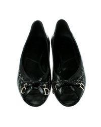 Ballerine Nero di Dior in Black