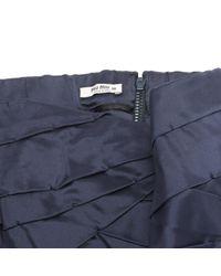 Miu Miu Blue \n Navy Silk Dress