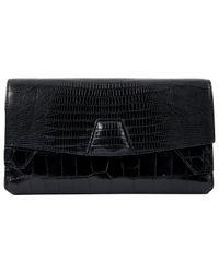 Alexander Wang Black Leather Clutch Bag
