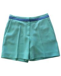 Roksanda Blue Mini Short
