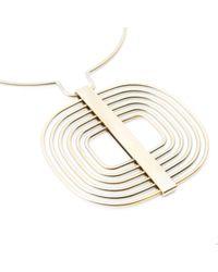 Roger Vivier Metallic Other Steel Necklace