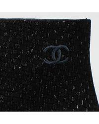 Chanel Black Stiefel
