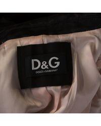 Vest en Soie Noir Dolce & Gabbana en coloris Multicolor