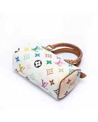 Louis Vuitton Multicolor Nano Speedy / Mini Hl Leinen Handtaschen