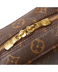 Louis Vuitton Brown Spontini Leinen Handtaschen