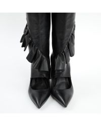 J.W. Anderson Black Leather Boots