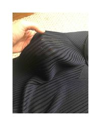 Sonia Rykiel Blue Navy Wool