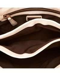 Miu Miu \n White Leather Handbag