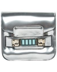Proenza Schouler Metallic Ps11 Leder Cross Body Tashe