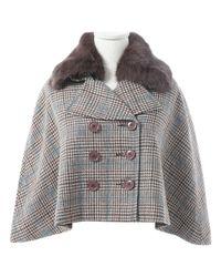 Manteau en laine Max Mara en coloris Brown