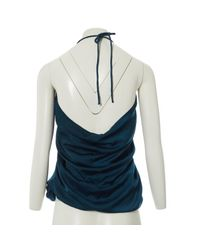 Top Lanvin en coloris Blue
